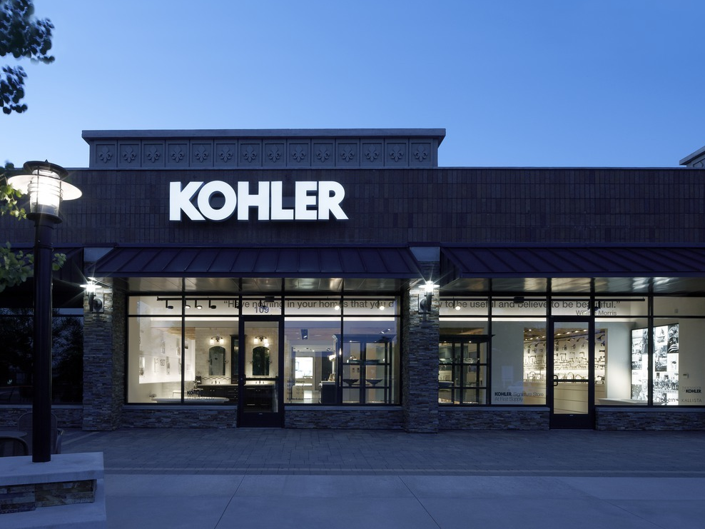 Kohler Showroom : KOHLER Bathroom & Kitchen Products at KOHLER Signature Store in Edina ...