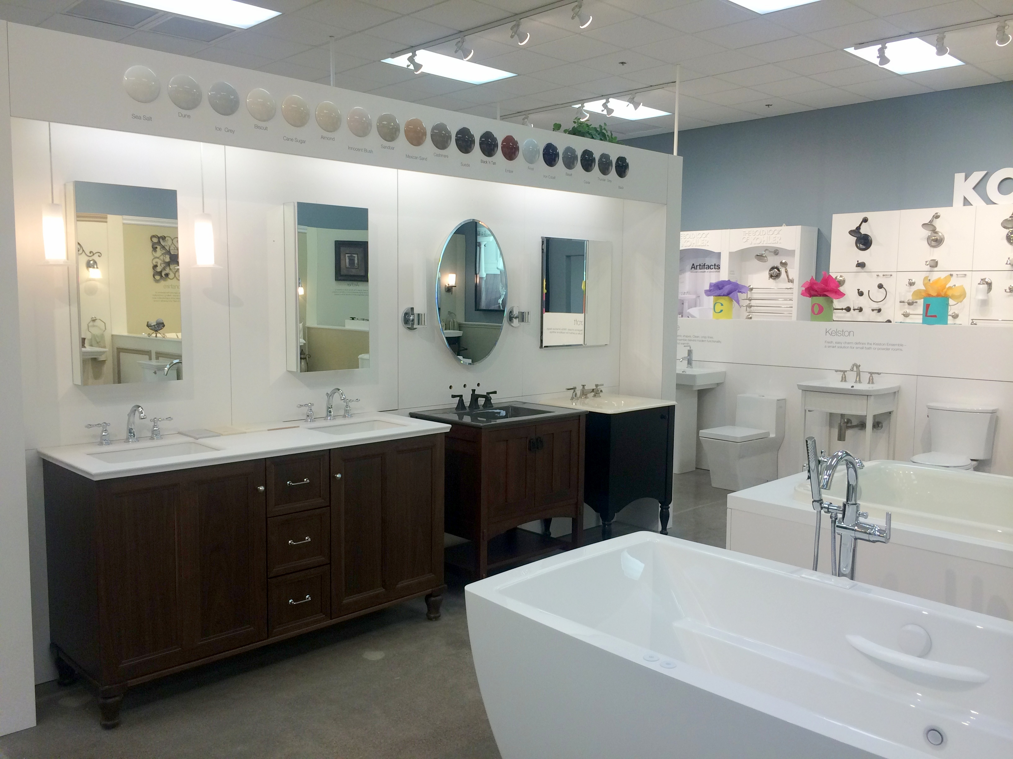 kohler bathroom kitchen products at expressions home gallery in