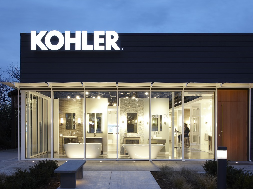 Kohler Showroom : KOHLER Bathroom & Kitchen Products at KOHLER Signature Store in ...