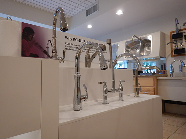 Bath Expressions Showroom at Security Supply