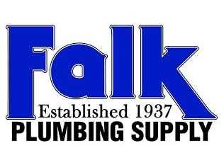 Logo for Falk Plumbing Supply